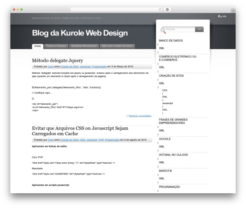 Fusion premium WordPress theme - kurole.net