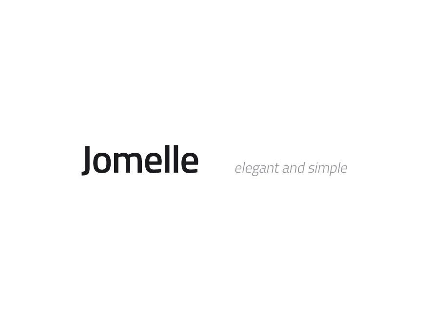 Jomelle best WordPress template