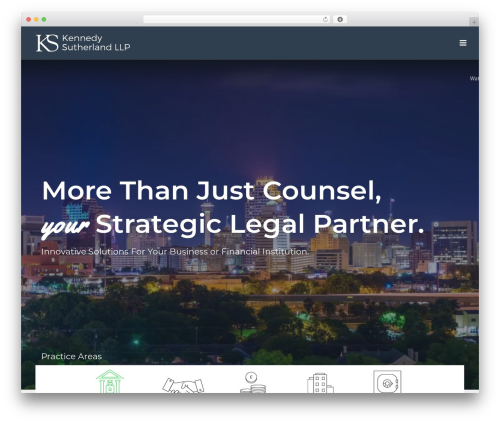 Jupiter company WordPress theme - kslawllp.com