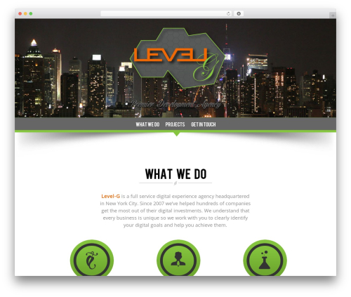 NatureWPThemes WordPress theme - levelg.com