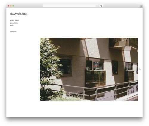 Touchfolio wallpapers WordPress theme - kellyverhagen.nl