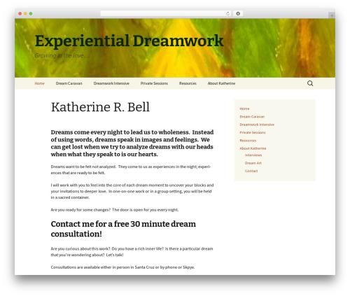 Twenty Thirteen template WordPress free - krbelldreamworker.com