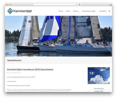 Ultra Premium WordPress theme - karinkiertajat.fi