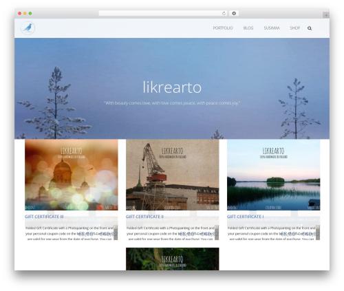 Free WordPress Azera Shop Companion plugin - likrearto.com