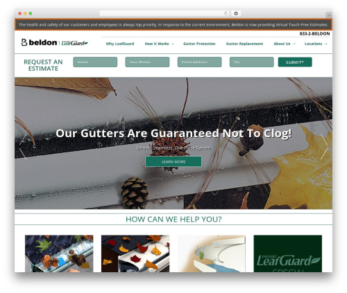 Free WordPress a3 Lazy Load plugin - leafguardgutters.com