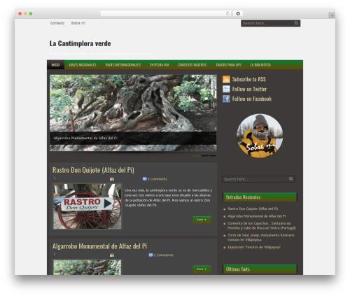 Bounce WordPress blog template - lacantimploraverde.es