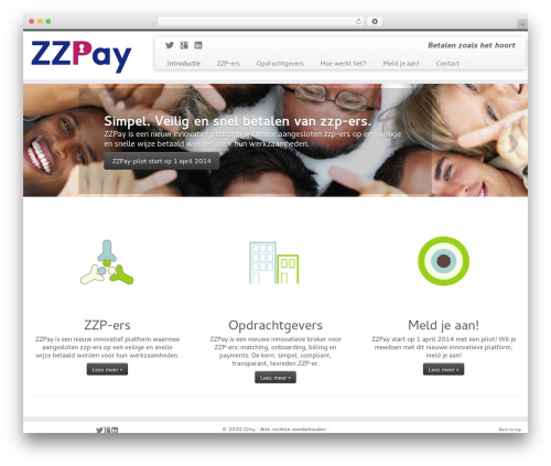 Customizr WordPress website template - logomakerij.nl