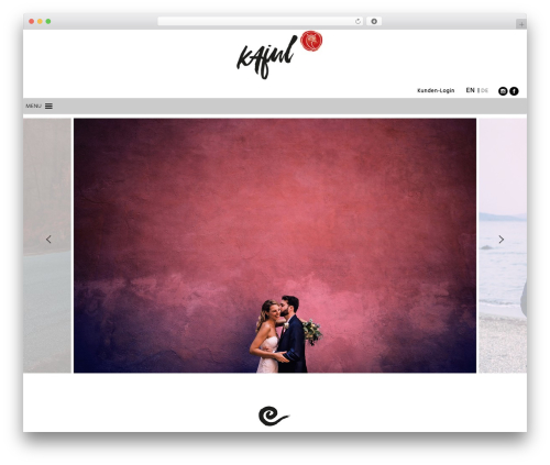WordPress megamenu-pro plugin - kajul-photography.de