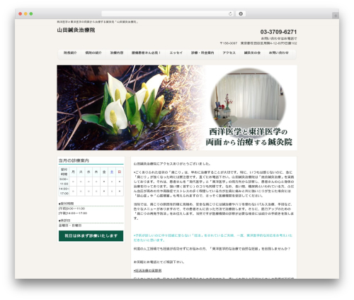 responsive_048 template WordPress - ka-yamada.com