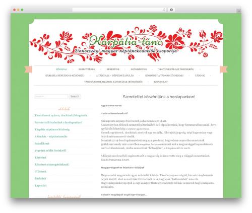 Template WordPress Sugar and Spice - karpatiatanc.com