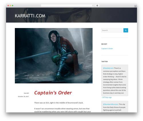 WordPress theme Avior - karratti.com