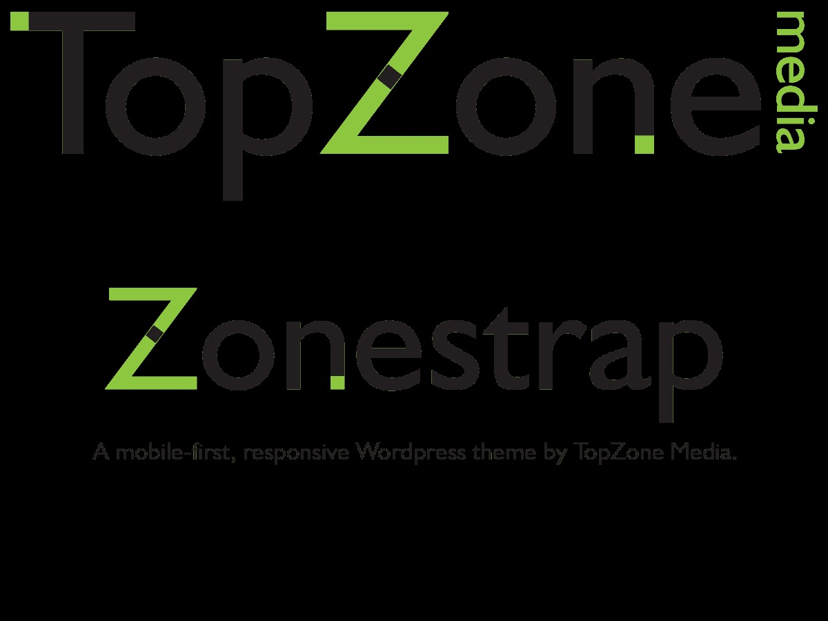 ZoneStrap WordPress page template