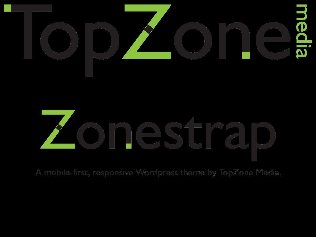 ZoneStrap WordPress page template