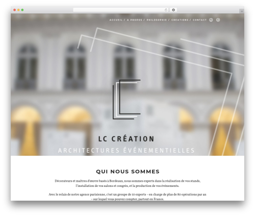 Free WordPress YouTube plugin - lccreation.fr
