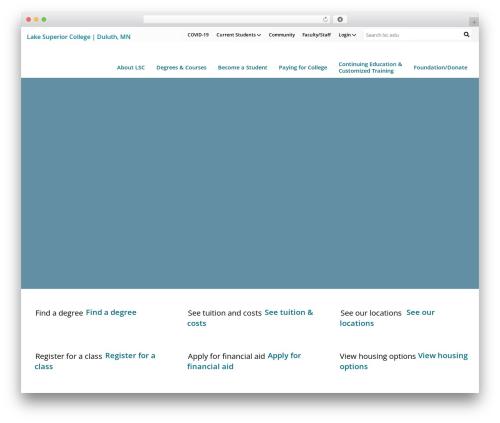 WordPress cff-masonry plugin - lsc.edu