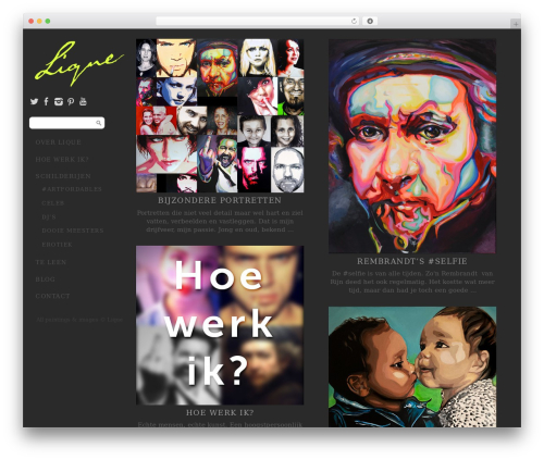 Side Grid Responsive WordPress Theme top WordPress theme - liqueangel.nl