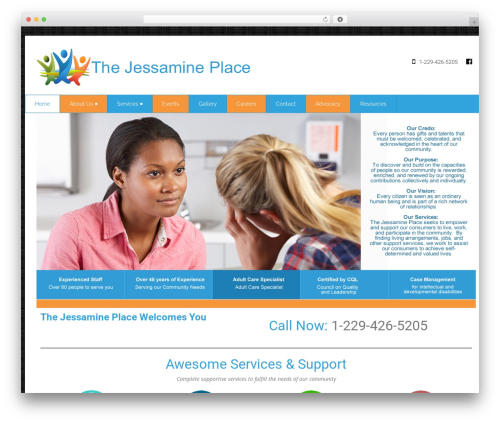 WP template Health-Center-Pro - thejessamineplace.org