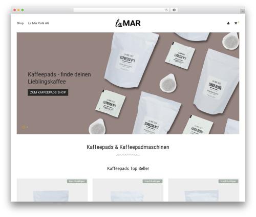WordPress woocommerce_postfinancecw plugin - lamar-kaffeepads.ch