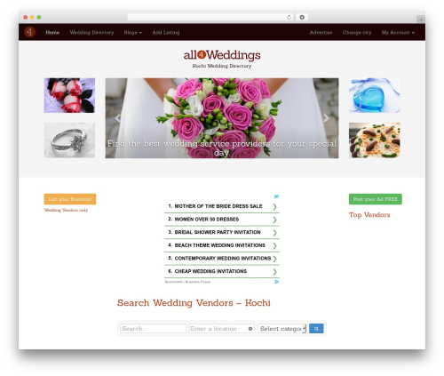 Free WordPress Royal PrettyPhoto plugin - kochi.all4weddings.in