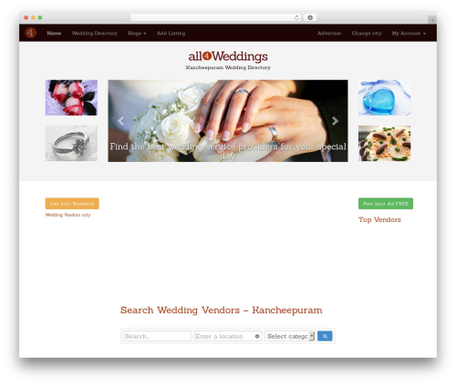 Free WordPress Royal PrettyPhoto plugin - kancheepuram.all4weddings.in