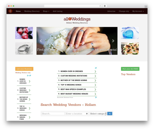 Free WordPress Royal PrettyPhoto plugin - kollam.all4weddings.in