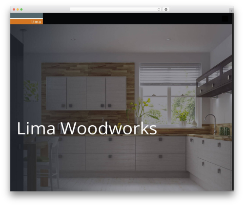 Betheme template WordPress - limawoodworks.com