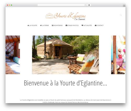 Chester top WordPress theme - yourte-savoie.fr