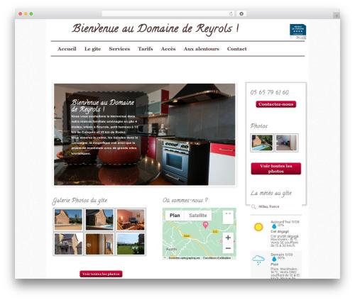 Gantry Extended WordPress website template - locations-aveyron.com