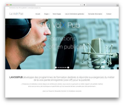 Template WordPress Satellite7 - lavoixpub.fr