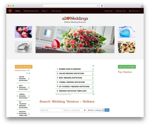 Free WordPress Royal PrettyPhoto plugin - kolkata.all4weddings.in