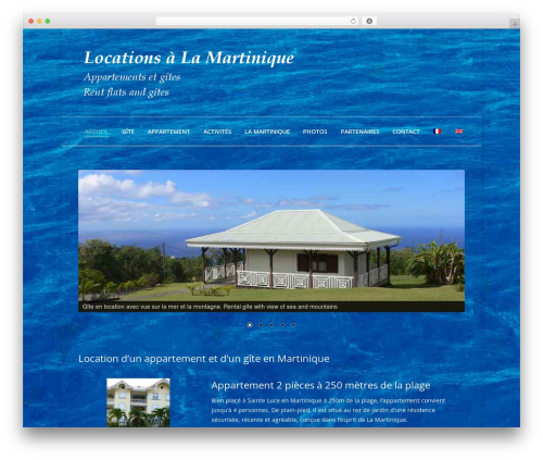 WP theme The7 - locationmartiniqueantilles.com