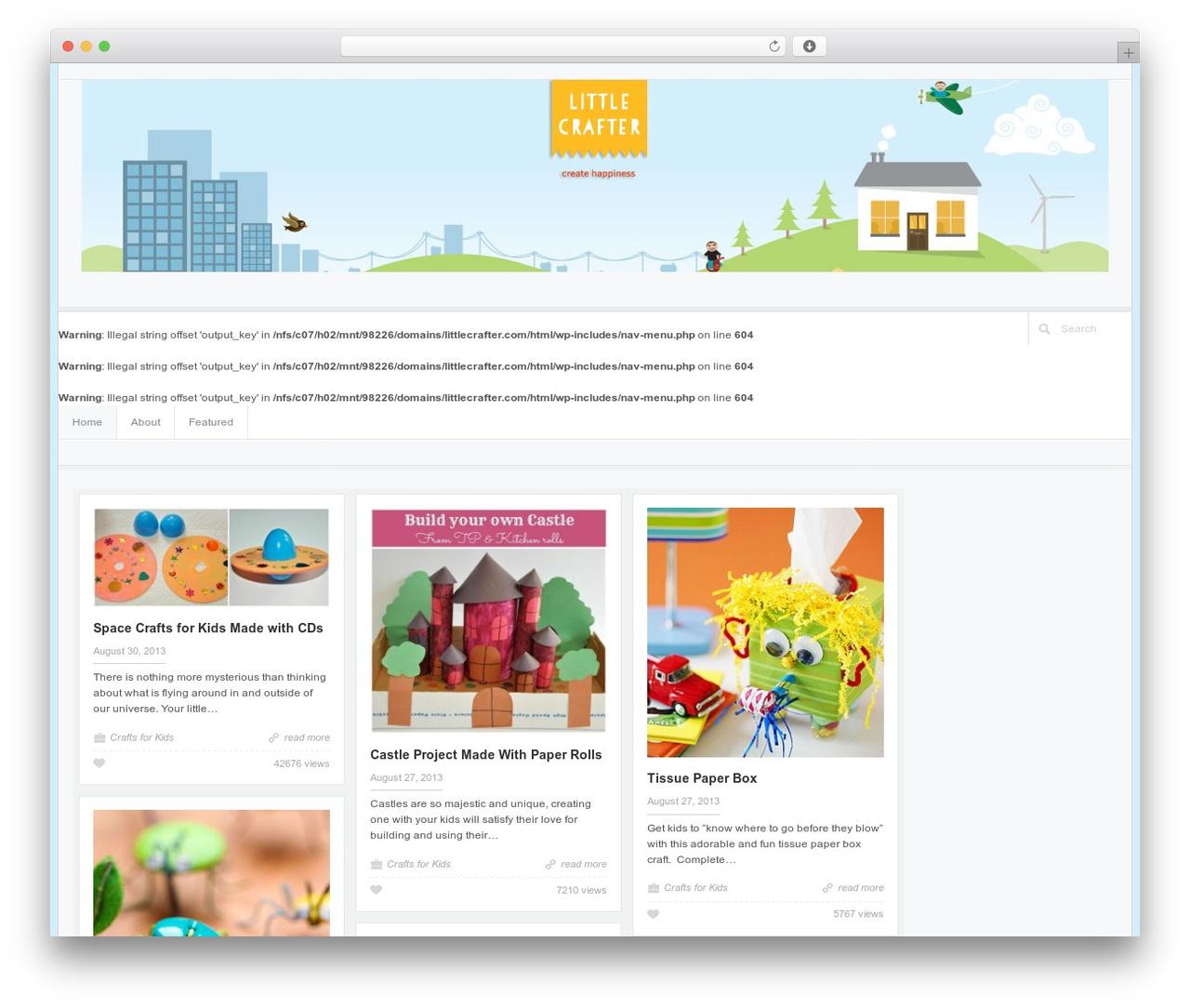Accord - Responsive WordPress Blog Theme WordPress blog theme - littlecrafter.com