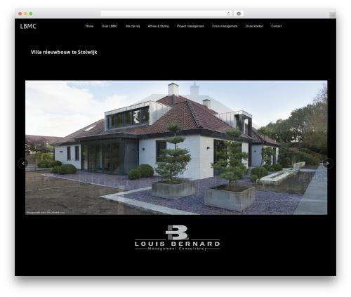 Axis top WordPress theme - lbmc.nl