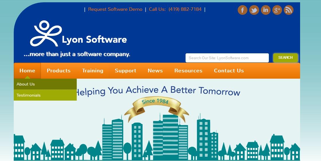 LyonSoftware Curent Theme - D5 Socialia Child company WordPress theme