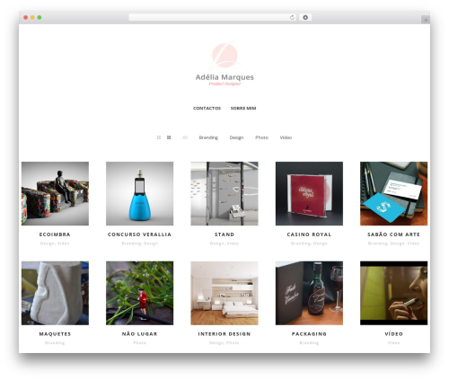 Pure - Multipurpose Responsive WordPress Theme template WordPress - liamarques.pt