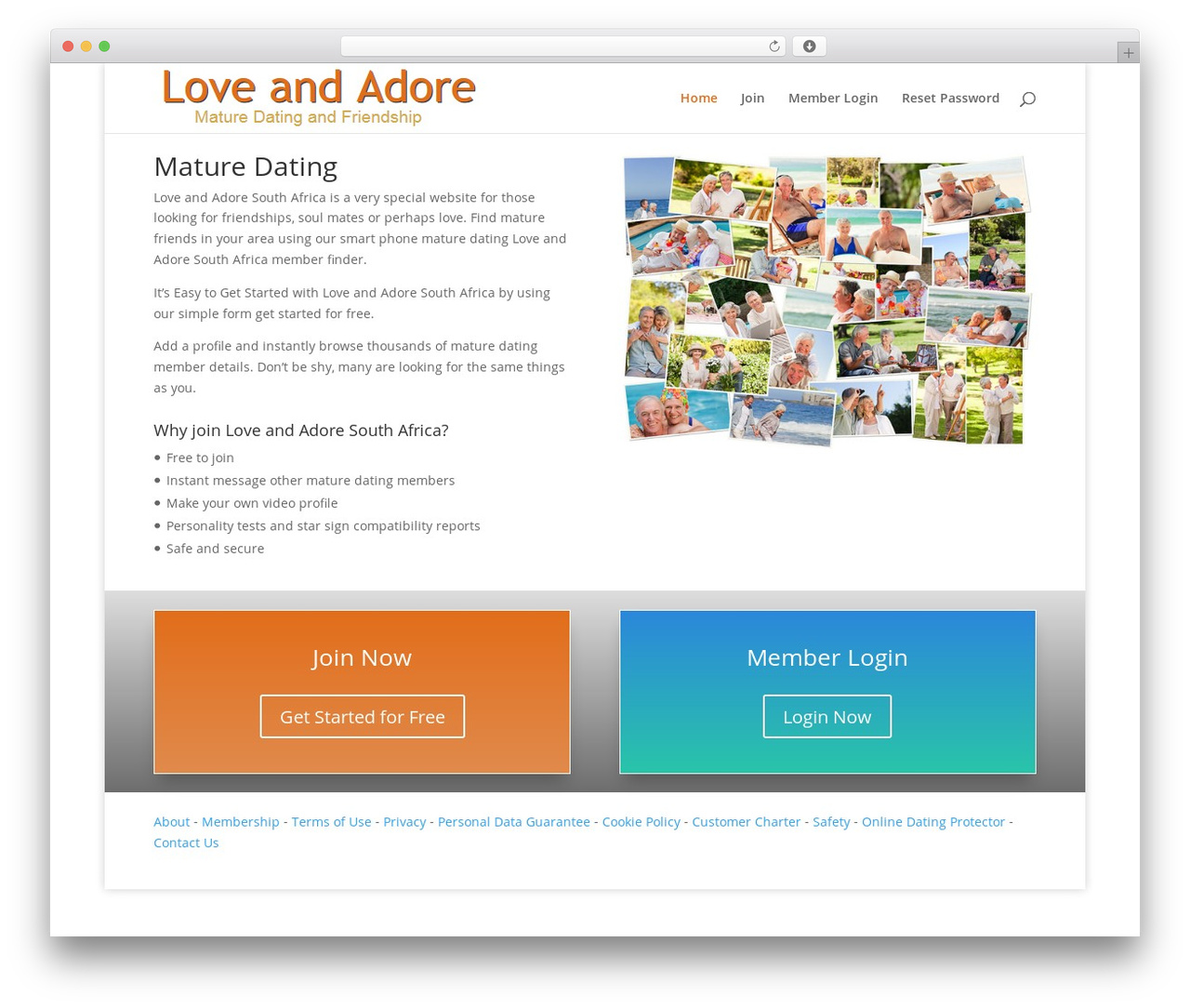 Template WordPress Divi - loveandadore.co.za