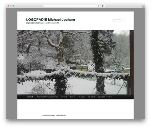 Twenty Eleven template WordPress free - logo-saarland.de