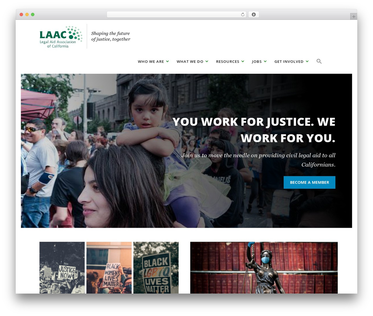WordPress template Spacious Pro - laaconline.org
