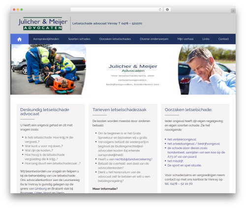 WP theme Attorney - letselschade-venray.nl