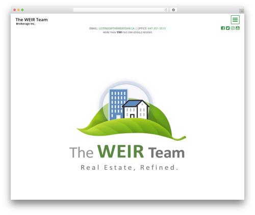 _artifakt best real estate website - theweirteam.ca