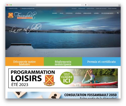 Best WordPress template Born To Give - fossambault-sur-le-lac.com