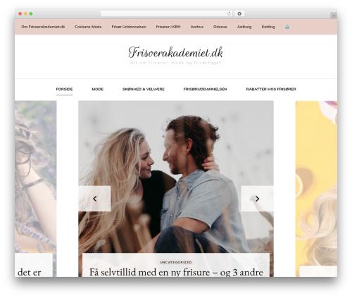 Blossom Fashion fashion WordPress theme - frisoerakademiet.dk