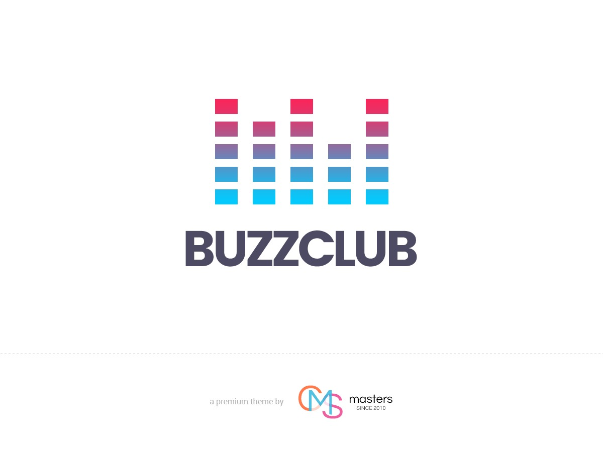 Buzz Club personal blog WordPress theme