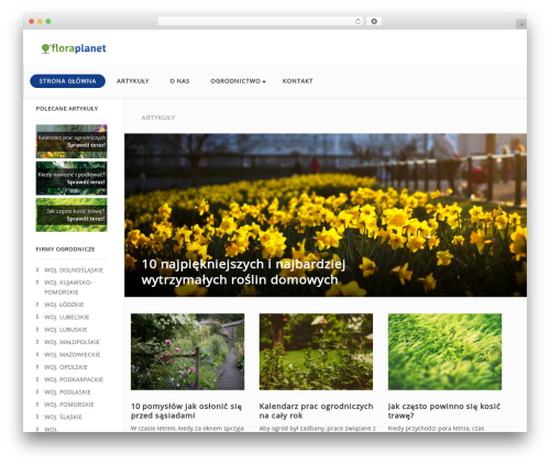 Entrepreneurship by MyThemeShop WordPress shop theme - floraplanet.pl