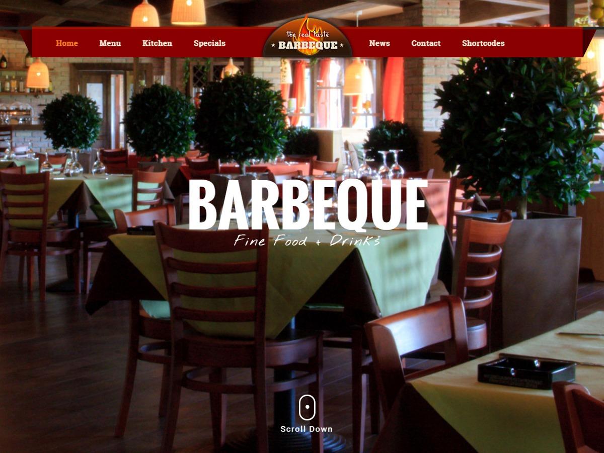 Foods food WordPress theme