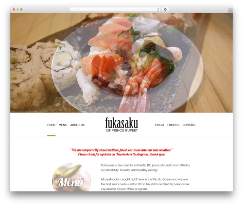 Free WordPress Responsive Menu plugin - fukasaku.ca