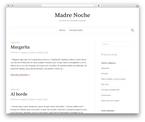 Graphy WordPress theme free download - fernandocastello.com.ar
