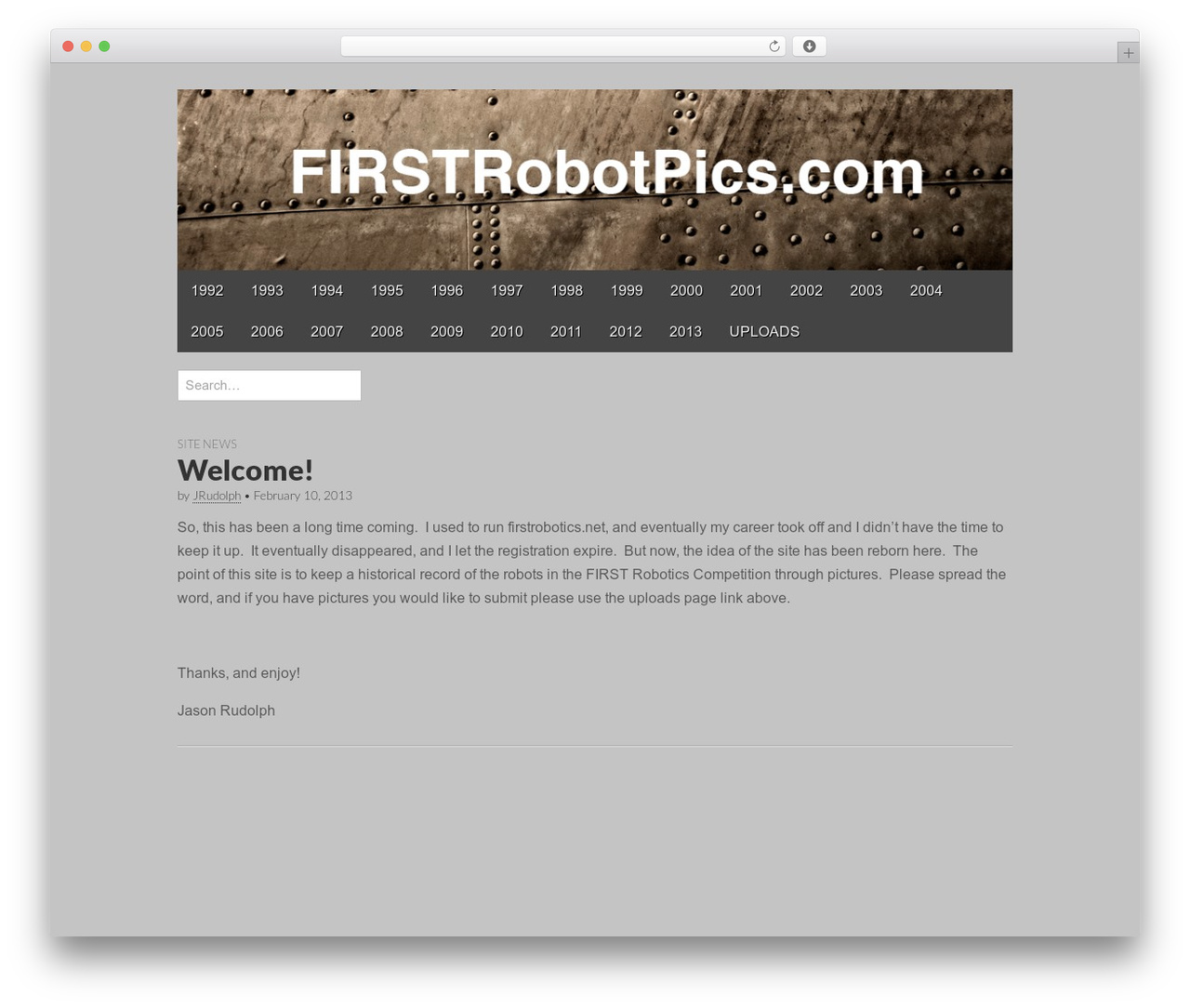 Gridiculous WordPress theme free download - firstrobotpics.com