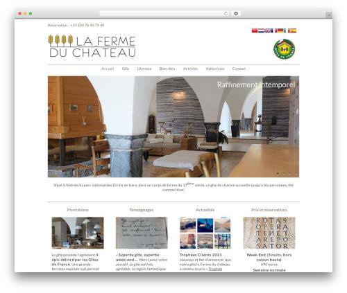 Free WordPress Translate WordPress with GTranslate plugin - fermeduchateau.fr