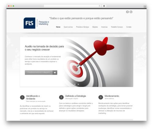 Helios premium WordPress theme - flspesquisa.com.br
